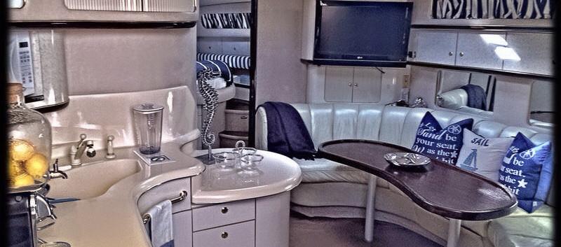 Yatch cruise interior
