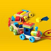 Spielzeugzug