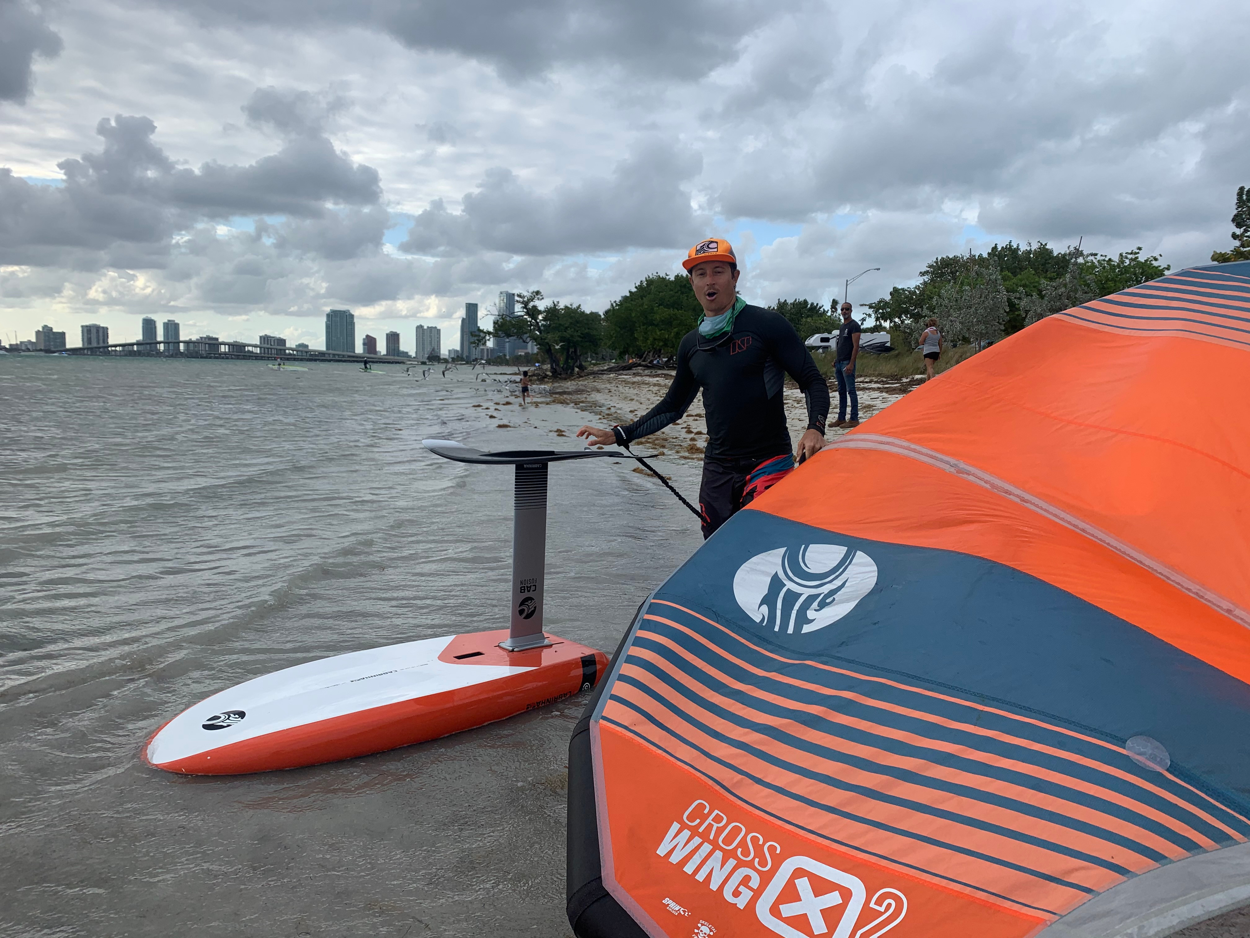 10 Lesson Package - Wing Foiling