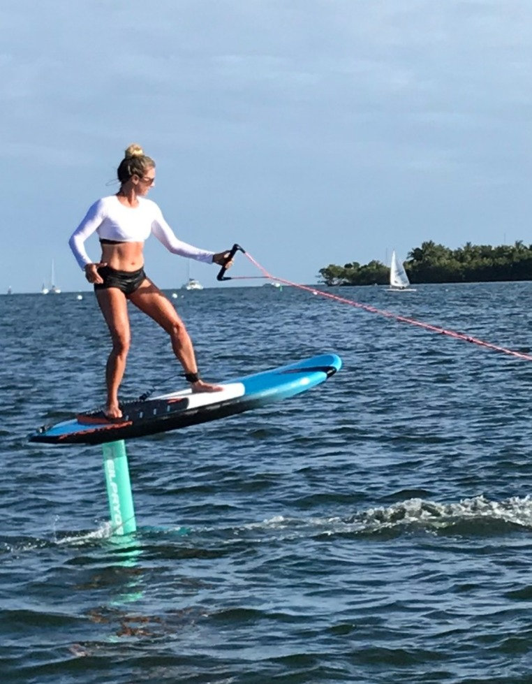 Tow-In Hydrofoil Session