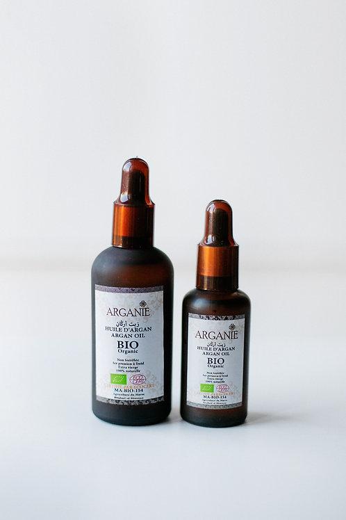Argan oil Cosmetic 50ml & 100ml (pipette dropper)