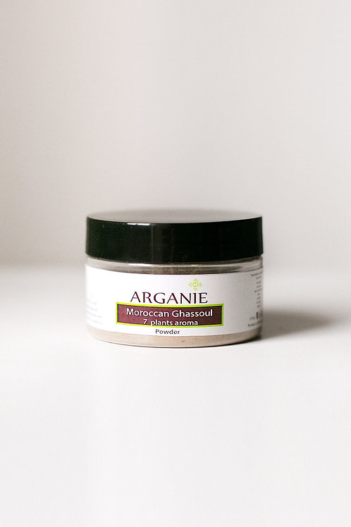 Ghassoul powder with 7 plants aroma 200g