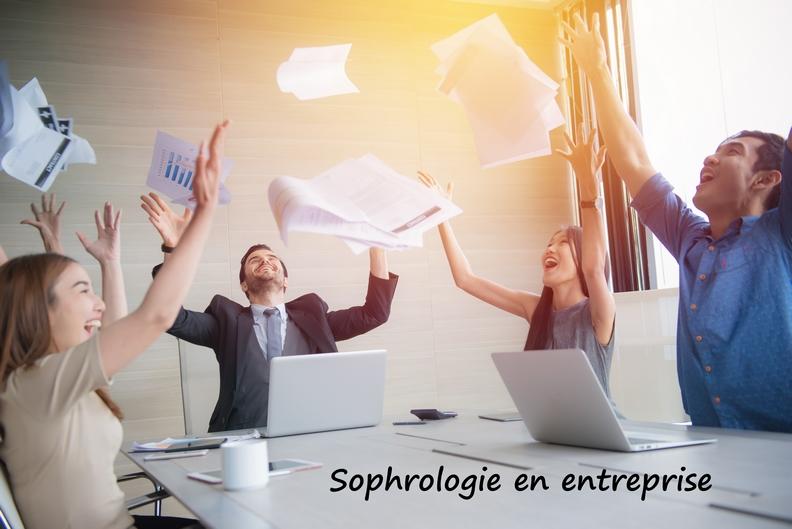 Sophrologie, bien-être au travail