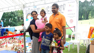 Fun for kids at Istana Open House