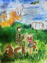 Татаурова Елизавета. 10 лет. Помощь детям