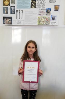 Михайлова Ульяна-победитель городского конкурса Маленький принц