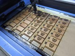 K & D Wedding - Laser Engraved Keychains