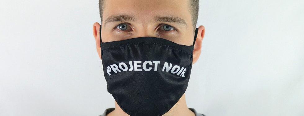 Project Noir Double Strap Face Mask