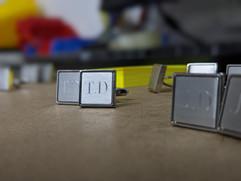 TD - Diamond Drag Engraved Cufflinks