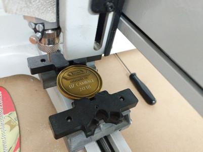 Basketball Victoria - Custom Made and Diamond Drag Engraved