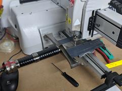 Crusader Knight - Diamond Drag Engraved Sword in Machine