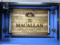 The Macallan - Laser Engraved Cheese Board