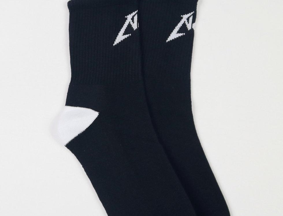 Project Noir Layered Crew Sock