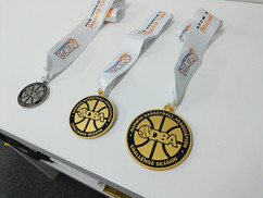 Darwin Basketball - Custom Made - Small, Medium and Large Medals