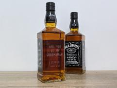 Groomsman - Sandblasted Jack Daniels