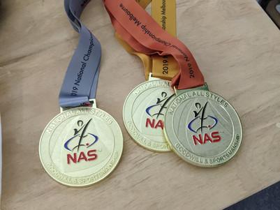 NAS - Custom Made National Medals