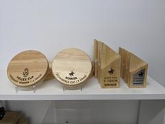 Vallex Cup - Laser Engraved Awards