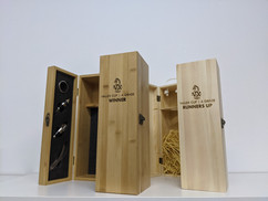 Vallex Cup Laser Engraved Wine Boxes