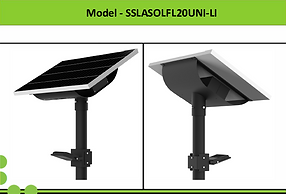 Solar Street Lights | South Africa | 20W Solar LED Flood Light