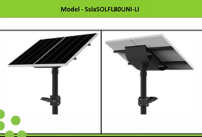 Solar Street Lights | South Africa | 80W Solar LED Flood Light