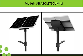 Solar Street Lights | South Africa | 50W