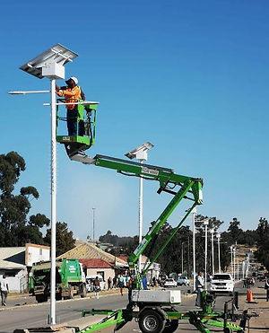 Solarstreet Africa 50w Solar Street Ligh