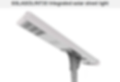Solar Street Lights | South Africa | 30W Integrated Solar Street Light