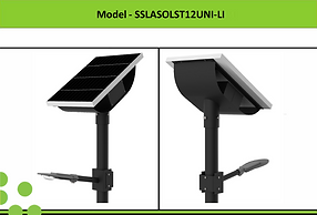 Solar Street Lights | South Africa | 12W