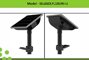 Solar Street Lights | South Africa | 10W Solar LED Flood Light