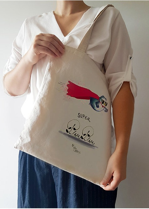 Sac Super Pioupiou made in France en coton bio
