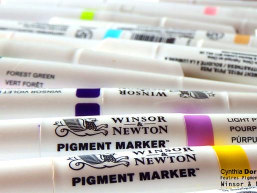 Les feutres Pigment Marker Winsor et Newton