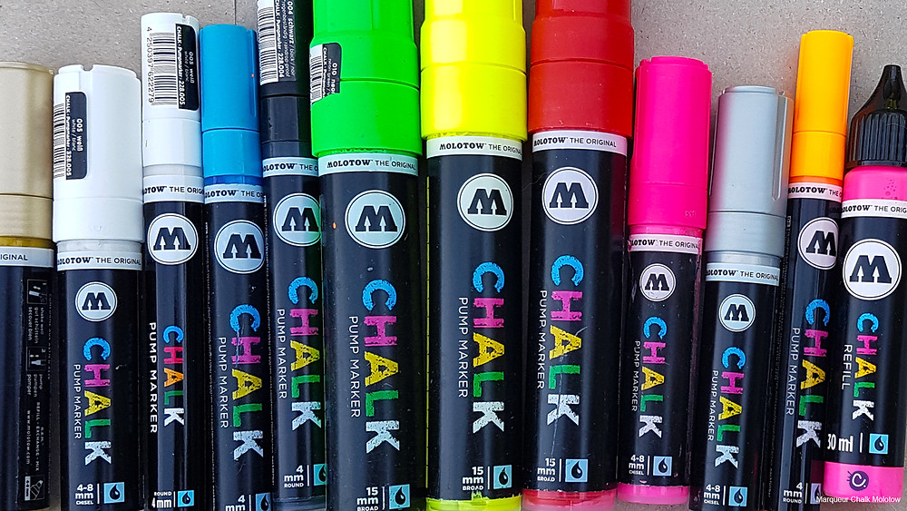 Marqueur Chalk Molotow