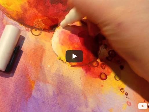 Démo technique mixte au Printemps des Arts 2016