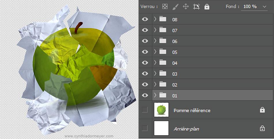 Tutoriel - Créer une image recomposée avec Photoshop - Cynthia Dormeyer