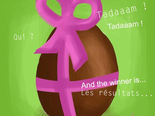 Concours de Pâques : les résultats