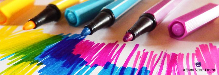 Feutre Stabilo Pen 68 - Mines et couleurs