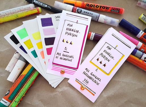 DIY : Créer un nuancier pour ses marqueurs en 4 étapes