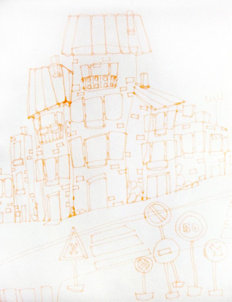 Etape 1 : le tracé du dessin