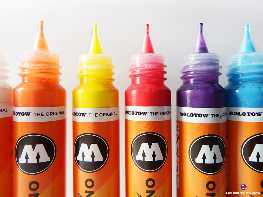 Les recharges Molotow 30 ml