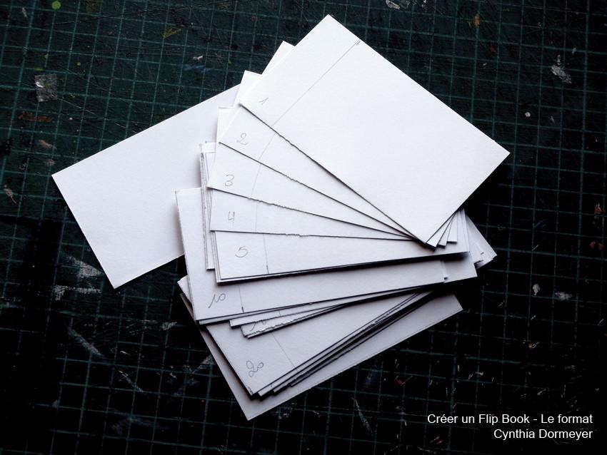 Le papier pour réaliser un Flip Book