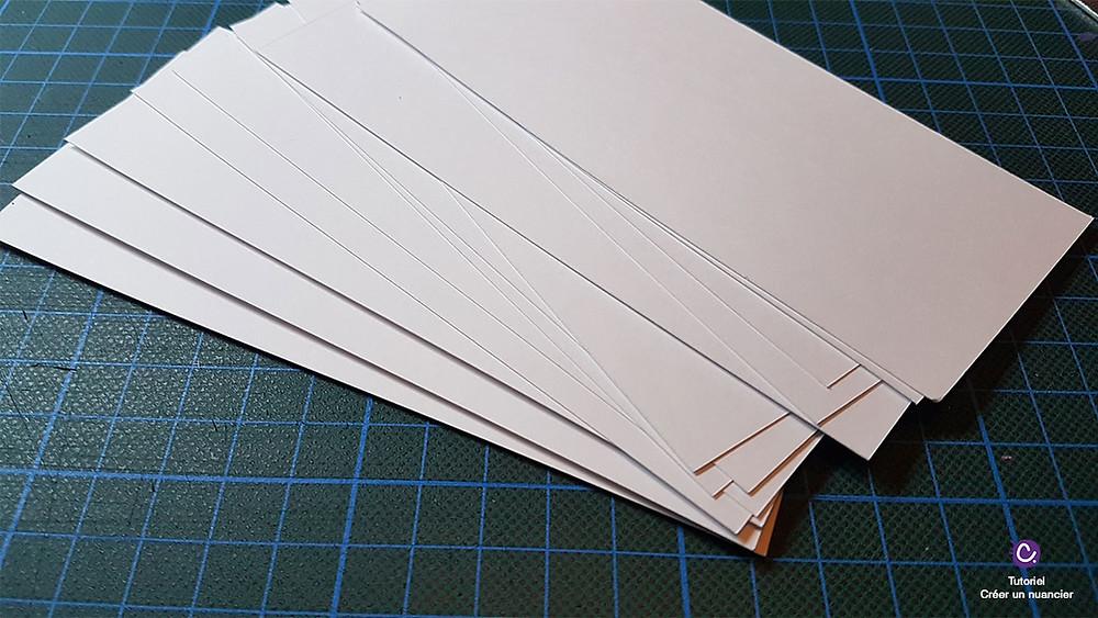 DIY - Réaliser son nuancier pour marqueurs Molotow - Etape 1