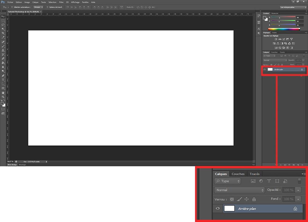 Etape 3 : Créer un fichier Photoshop - Cynthia Dormeyer