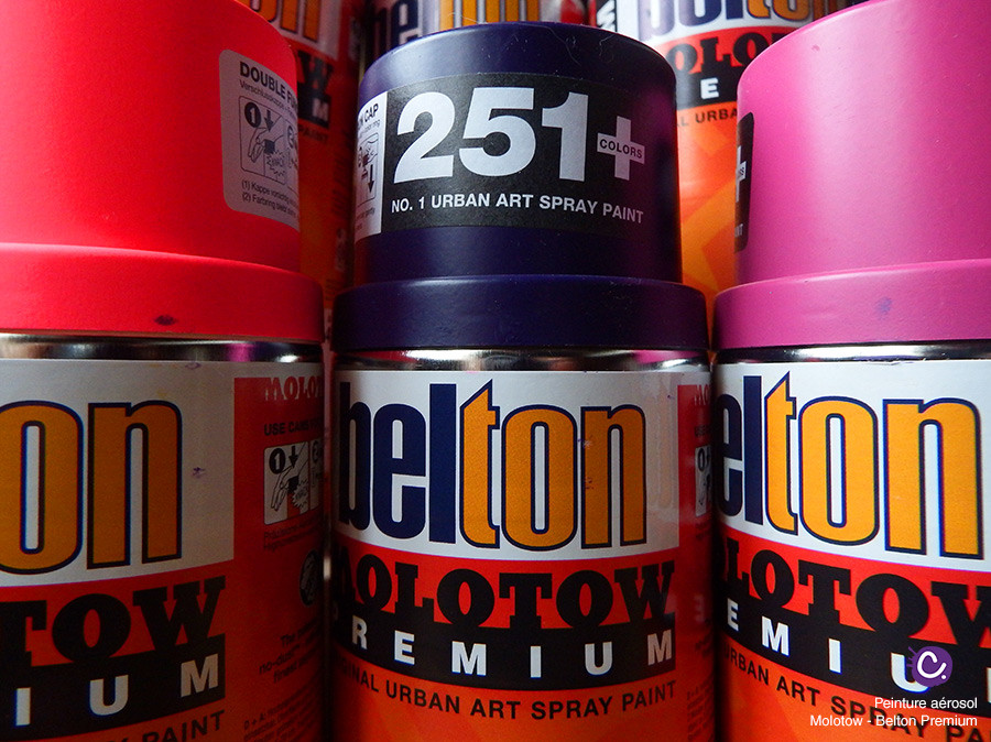 Peinture Molotow Belton Premium