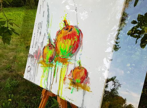 Démonstration au marqueur Chalk de Molotow