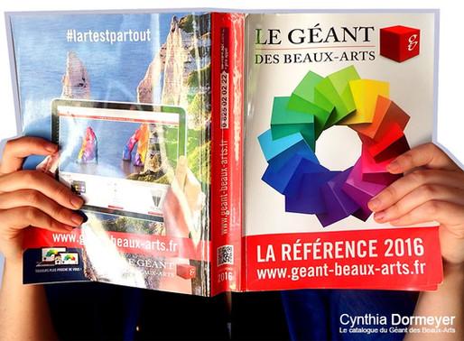 Le catalogue du Géant des Beaux-Arts