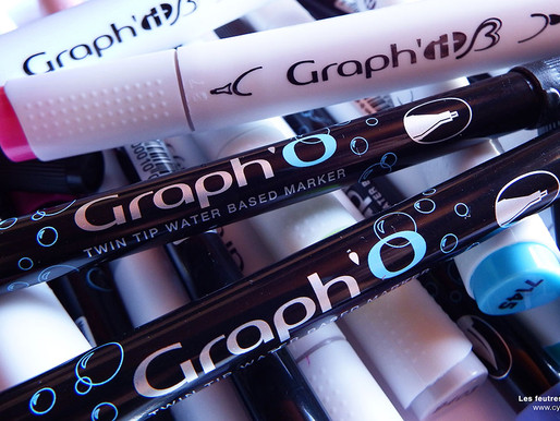 Les marqueurs Graph'O et Graph'It Brush