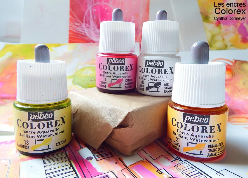 Encre aquarelle Colorex de Pébéo