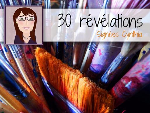 30 choses sur moi