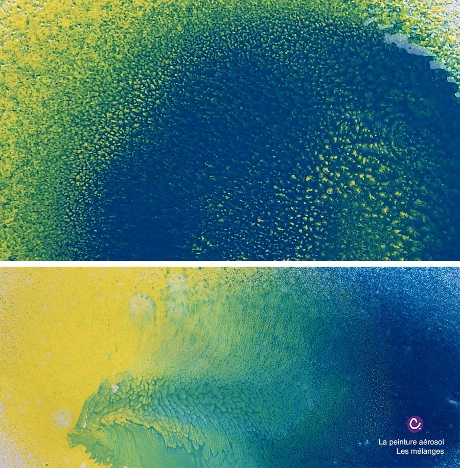 Le mélange des couleurs en photo