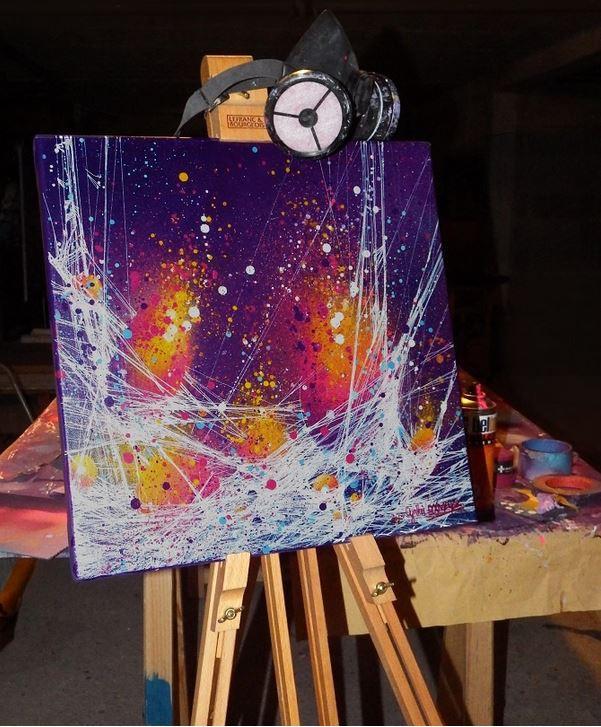 Résultat final - Mise en situation de la peinture
